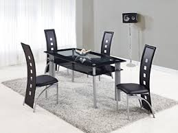 dining sets with chairs gf ds all black kitchen setjpg table sets ds furniture all black furniture
