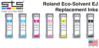 <b>Roland</b> Eco-Solvent <b>EJ</b> Replacement <b>Inks</b> - STS <b>Inks</b>