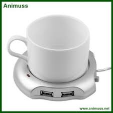 4 port USB hub electric coffee tea usb cup warmer heater sky ...