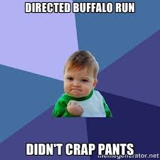 Tag Buffalo Run | Happy Utah Mountain Runners via Relatably.com