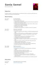 gl bookkeeper resume samples bookkeeper resume examples