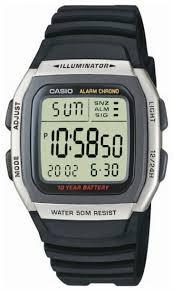 Наручные <b>часы CASIO W</b>-<b>96H</b>-<b>1A</b> — купить по выгодной цене на ...