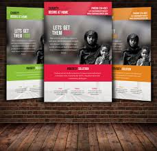 charity donation flyer templates by designhub com charity donation flyer templates
