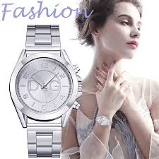 Watches <b>Woman</b> Clock <b>2019 Fashion Simple</b> Bead Dial Stainless ...