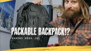 <b>Wandrd Veer</b> Packable Daypack (Inflatable!) - YouTube
