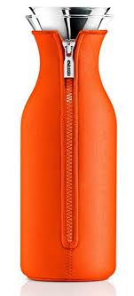 Купить <b>Графин</b> Fridge в неопреновом <b>чехле</b>, <b>1</b> л, оранжевый, Eva ...