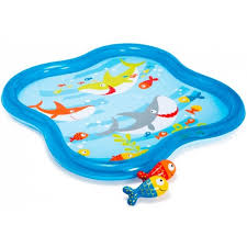 """57126 <b>Детский бассейн INTEX</b> """"Фонтан с <b>рыбками</b>"""", 140*140*11 см"""