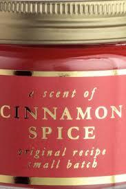<b>Ароматическая свеча</b> в стекле - Красный/Cinnamon <b>Spice</b> ...
