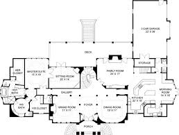 Buckingham House Plan   Home Plans By Archival DesignsBuckingham   House Plan   Classical   First Floor Plan
