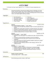 remarkable marketing resume examples amazing writing isabellelancrayus remarkable marketing resume examples amazing writing resume sample luxury marketing resume examples by aiden