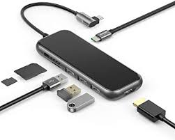 MacBook Pro USB C Hub Adapter, <b>Baseus 7-in</b>-1 Type C: Amazon ...