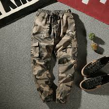<b>HOUZHOU</b> Camo Pants Women 2020 Army <b>Cargo</b> Pants Women ...