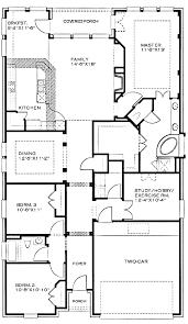 Narrow Lot House Plans With Garage In Back
