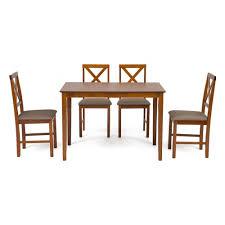 <b>Обеденный комплект эконом</b> TETCHAIR Хадсон (стол + 4 стула ...