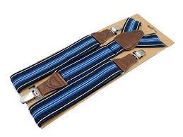 <b>Men'S Suspenders</b> 3 <b>Clips</b> Leather Braces Adult Father Bretelles ...