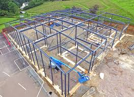 portfolio careers contact us our brochure steel frame steel frame fabrication hawkins group