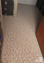 ceramic tile for bathroom floors:  trendy cork mosaic floor tile cream pattern mosaic