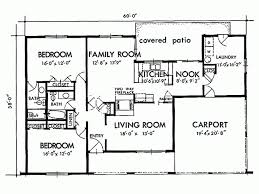 Eplans Adobe House Plan   Two Bedroom   Square Feet and    Level