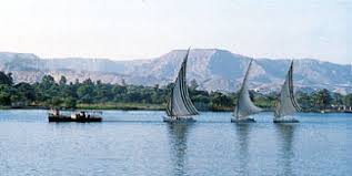 Nile River  feluccas on the Nile    Kids Encyclopedia   Children     s     Kids Britannica