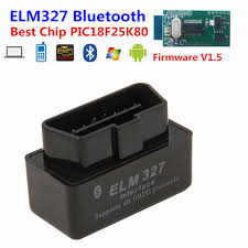 <b>For Android</b> Torque <b>ELM327 V1</b>.<b>5</b> Bluetooth PIC18F25K80 Chip ...