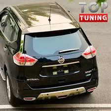 <b>Накладка на задний дворник</b> TECH Design на Nissan X-Trail T32