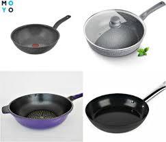 Как выбрать <b>сковороду с антипригарным покрытием</b> – 4 вида ...