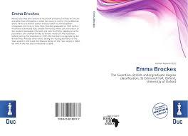 search results for british undergraduate degree classification bookcover of emma brockes