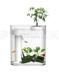 <b>Аква</b>-<b>ферма Xiaomi Descriptive</b> Geometry Amphibious Fish Tank ...