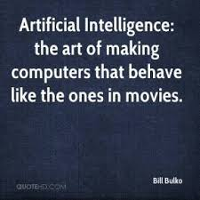 Artificial intelligence Quotes - Page 1 | QuoteHD