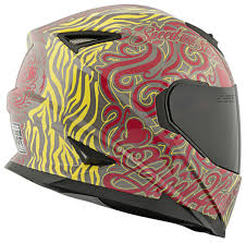 speed and strength ss black heart helmet cycle gear