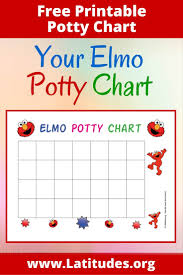 FREE Elmo Potty Training Chart | ACN Latitudes