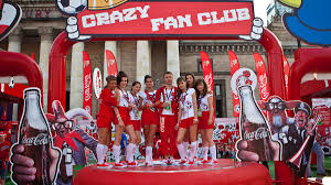 marketing and merchandising coca cola hbc fan zone at euro 2012 football championship
