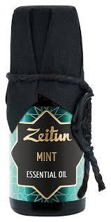 Купить <b>эфирное масло мята mint</b> essential oil 10мл Zeitun, цена ...