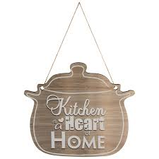 <b>Табличка</b> декор. The <b>kitchen is</b> the heart of the home ИТ-029 ...