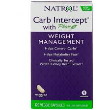 Natrol <b>Carb Intercept</b> with <b>Phase</b> 2 Carb Controller 120 Veggie Caps ...