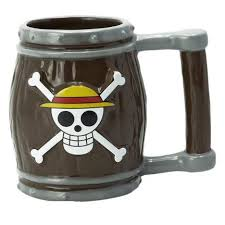 <b>One Piece</b> - <b>Barrel</b> 3D Mug, 350ml