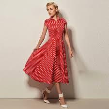 <b>Sisjuly</b> women dress vintage <b>polka dots</b> dress turn-down collar shor ...