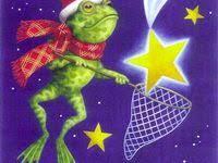 Frogs Happy <b>New Year</b> Лягушки Новый Год Рождество: лучшие ...