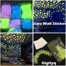 1/<b>100PC Fashion Kids Bedroom</b> Beautiful Fluorescent Glow In The ...