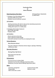 Cv Or Resume  resume style samples resume sample format template