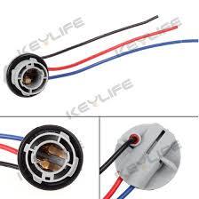 2pcs 1157 2057 2357 plug wiring harness sockets harness for front 2pcs 1157 2057 2357 plug wiring harness sockets harness for front turn signal