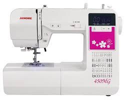 <b>JANOME 450MG</b> Компьютеризированная <b>швейная машина</b>