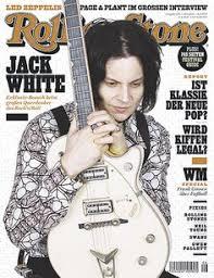 Jack White on <b>the</b> German <b>Rolling Stone</b> Cover <b>Shades</b> Of White, 50 ...