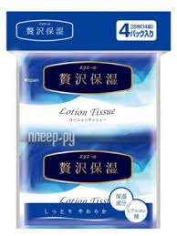 <b>Салфетки Elleair Lotion Tissue</b> 4x14шт 713442