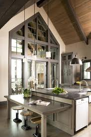 lights sloped ceilings kitchen rustic kitchen with vaulted ceiling best lighting for sloped ceiling