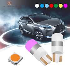 <b>2018</b> Newest 2pcs <b>T10 LED</b> W5W 194 168 COB <b>LED</b> Car Styling ...