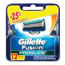Купить <b>Сменные кассеты</b> для бритья 12 шт., <b>GILLETTE</b> (Жиллет ...