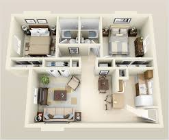 4 awesome 3d floor plans