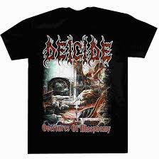 <b>Deicide Overtures Of</b> Blasphemy Shirt S XXL Official Death Metal T ...