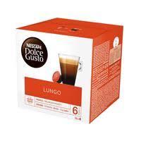 <b>Капсулы</b> для кофемашин <b>Nescafe Dolce Gusto</b> Lungo (16 штук в ...